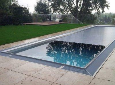 Nerezový bazén lamely PC ALU look