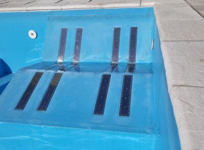 Masážní lehátka pro foliové bazény